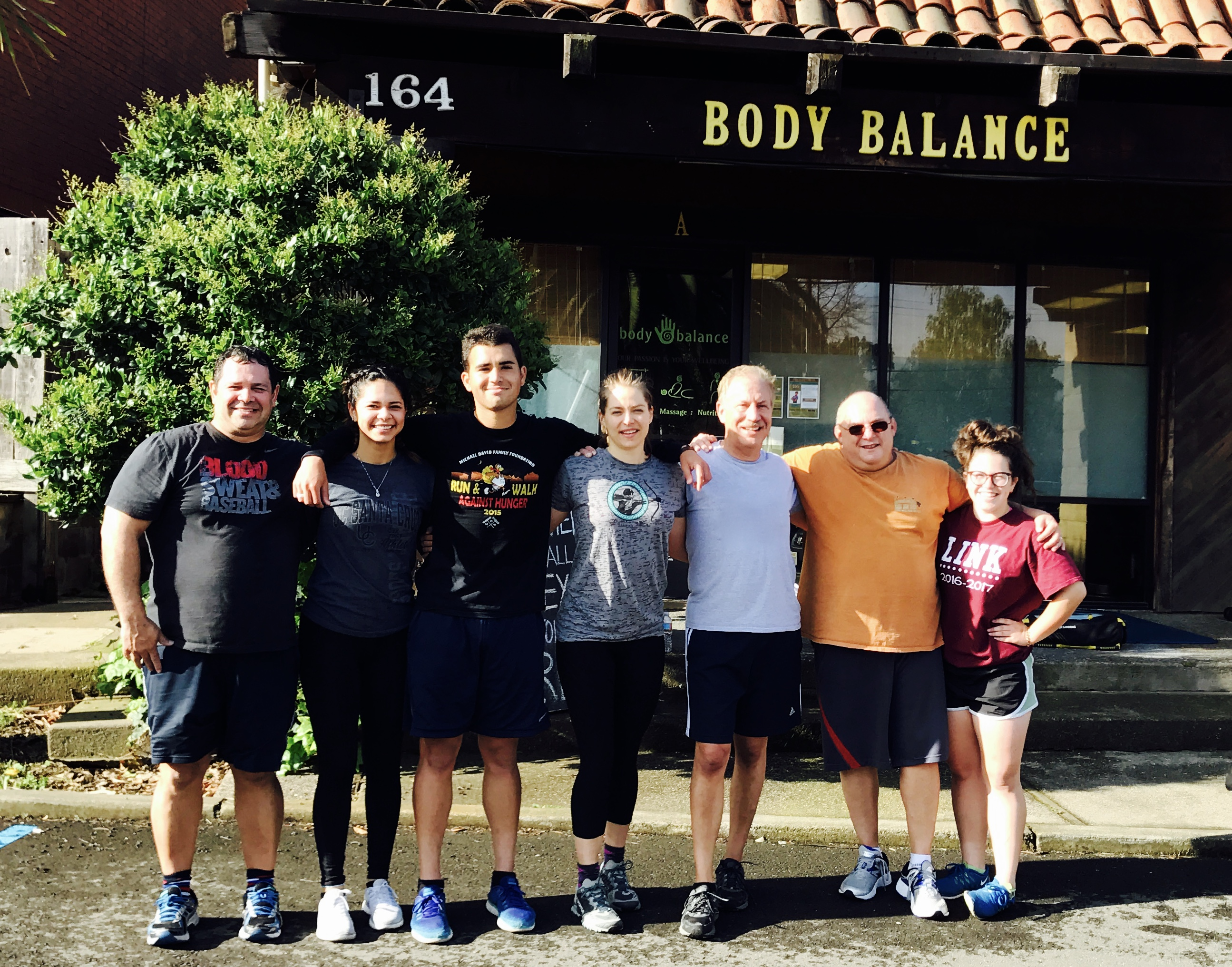 Great of athletes at Body Balance Gym in Pleasanton